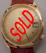 Near Mint Solid 14K Gold Bulova Accutron Collectible