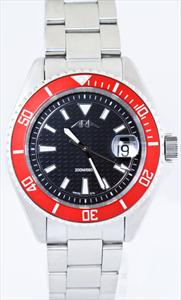 Men's 200 Meter Swiss Eta Quartz Diver Watches