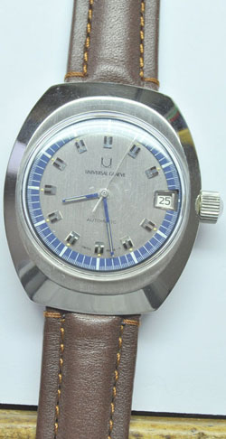 Swiss Automatic Universal Geneve with Micro Rotor. Early 60's